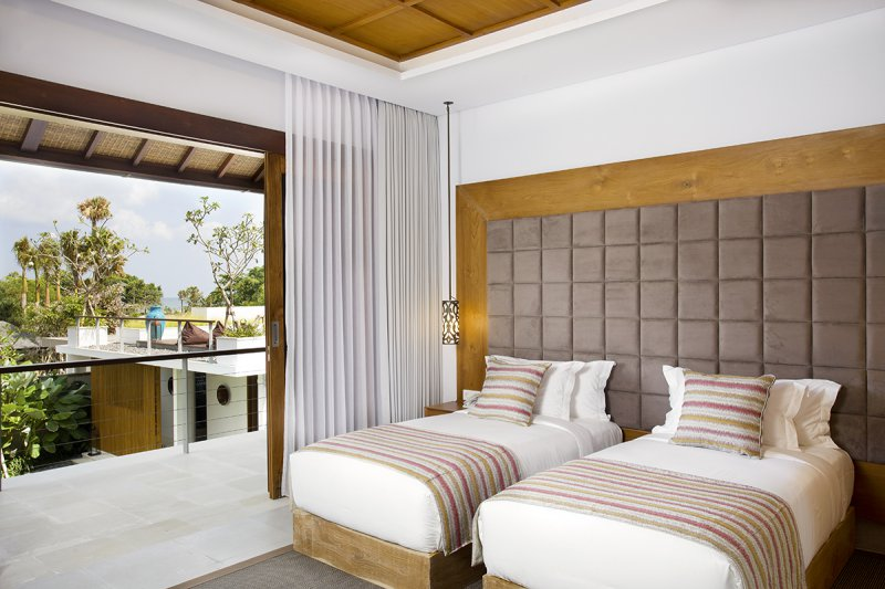 Villa Cendrawasih 160 25751183925 Bedroom With Two Single Beds At Upstairs