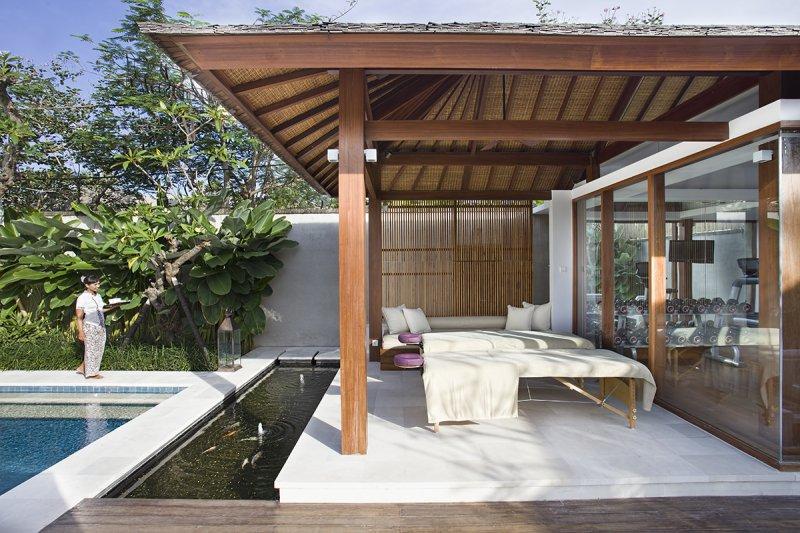 Villa Cendrawasih 160 340823438913 Outdoor Spa Room