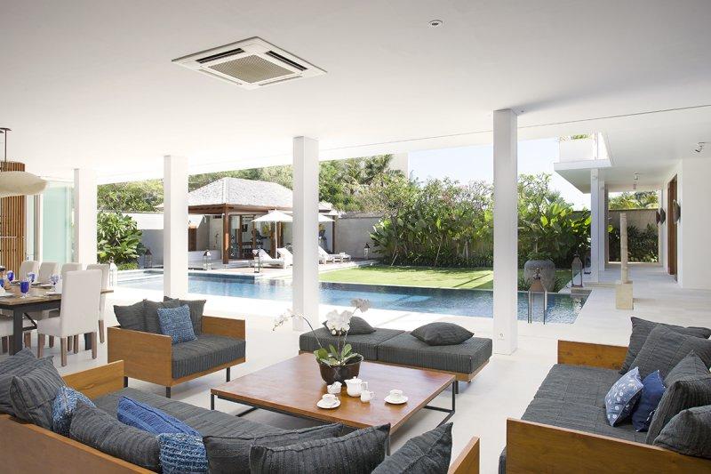 Villa Cendrawasih 160 46155837559 Sofa At Open Style Living Room