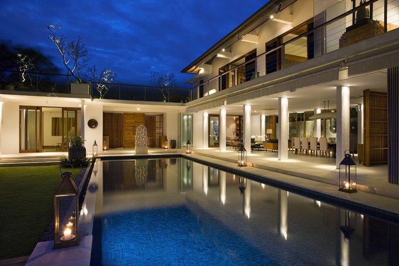 Villa Cendrawasih 160 692092211418 The Villa At Night