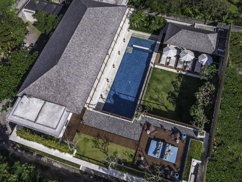 Villa Cendrawasih 160 740215671220 The Villa From Above