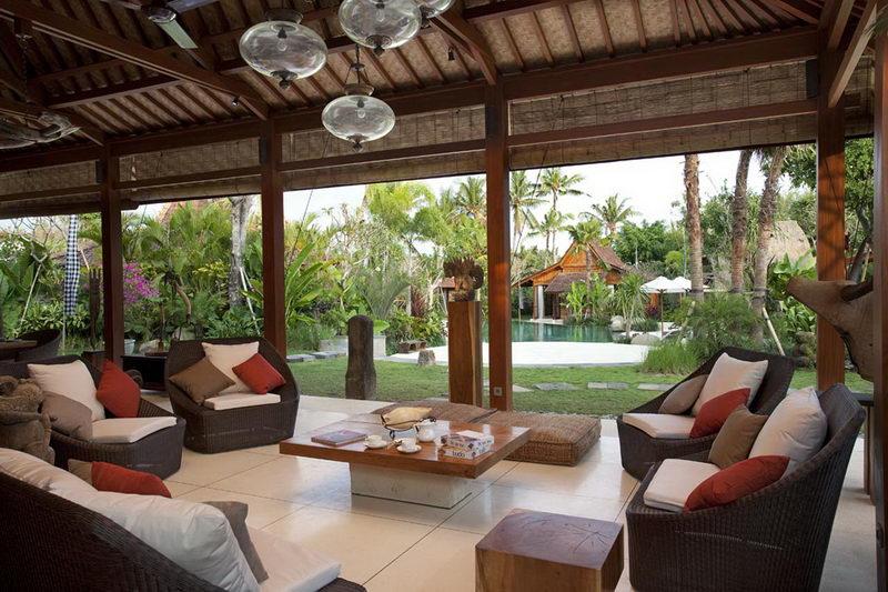 Villa Sati Living Area