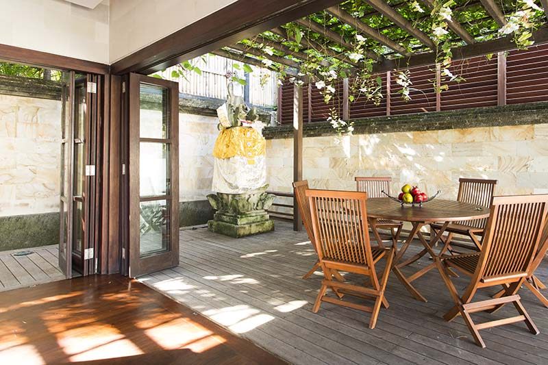 Villa Bayu Gita Residence Alfresco Dining