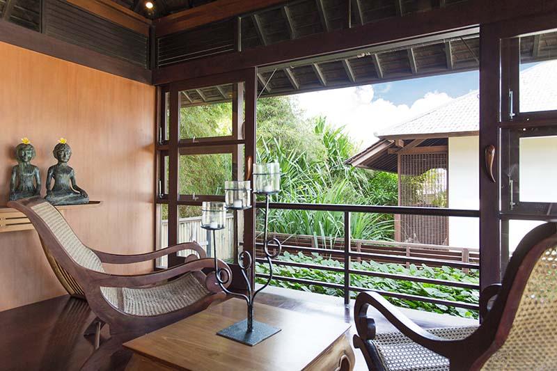 Villa Bayu Gita Residence Balcony