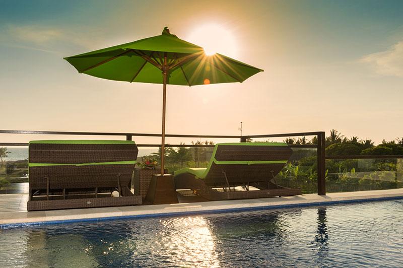 Villa LuWih 211 8053042924 Balcony Sunset
