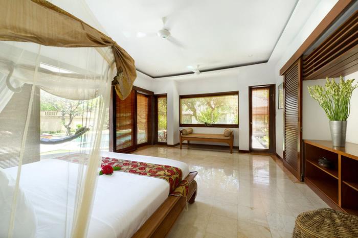 Villa Maharaj Master Bedroom