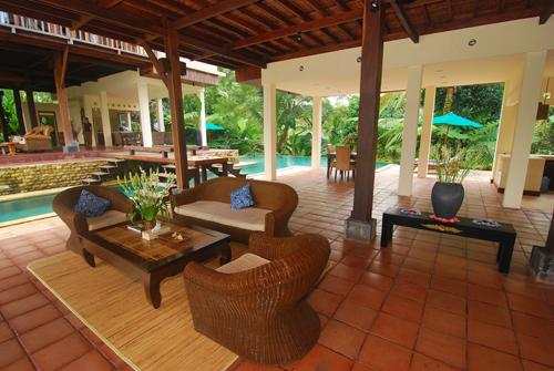 Villa Atas Awan 225 320745196610 Living Area