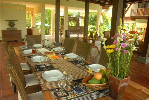 Villa Atas Awan 225 784441051511 Dining Area