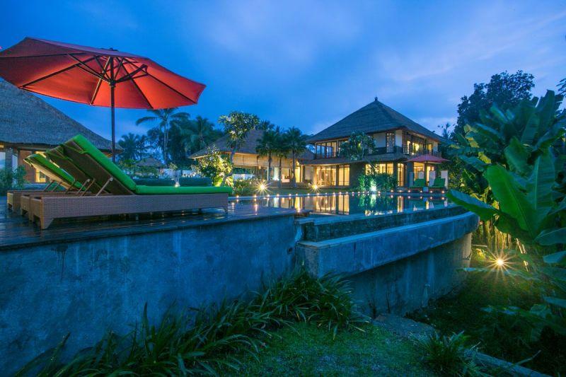 Villa Vastu 227 378355186829 Swimming Pool At Night