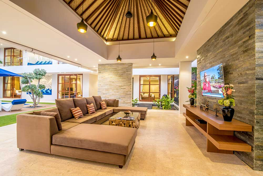 living room bali freedom villa bali luxury villas 11446
