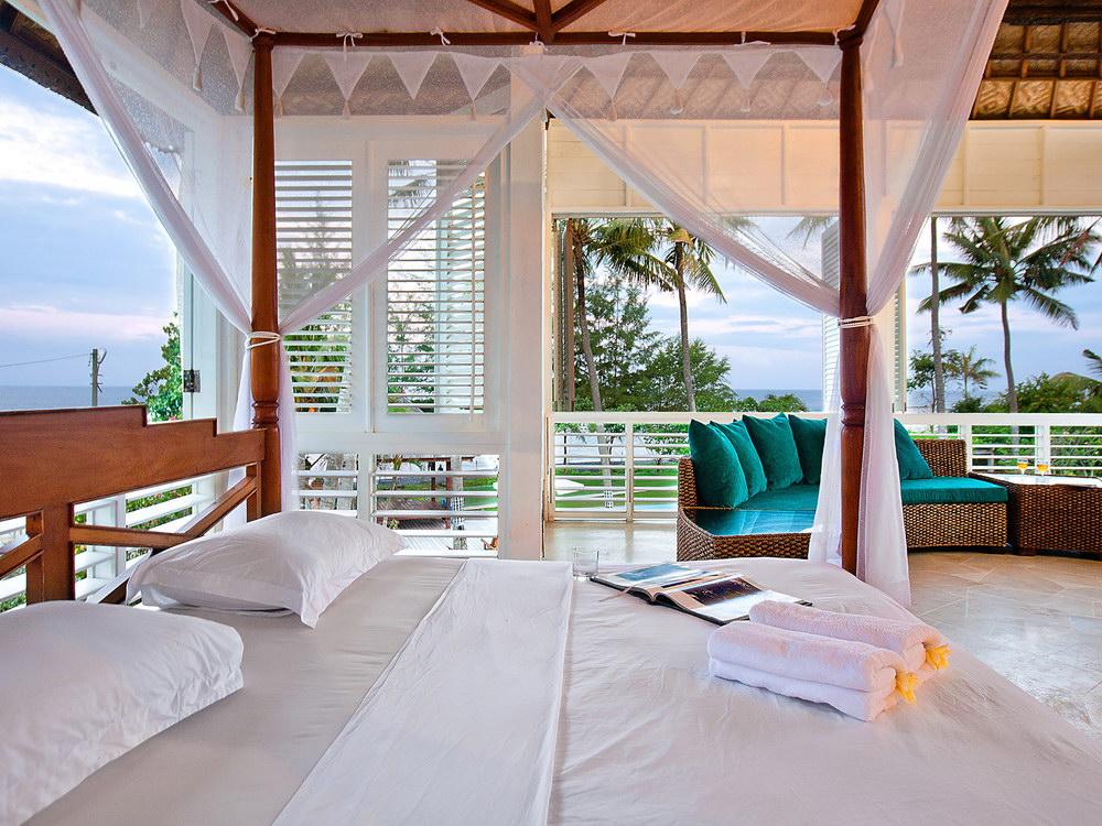 Semi Open Plan Guest Bedroom