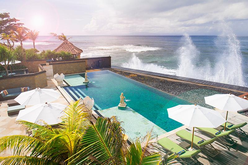 Villa Bayu Gita Beachfront Pool And Ocean