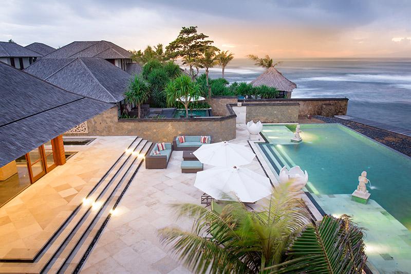 Villa Bayu Gita Beachfront Pool And Deck