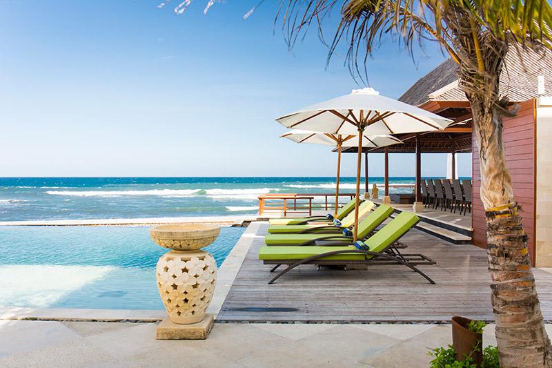 Villa Bayu Gita Beachfront Poolside