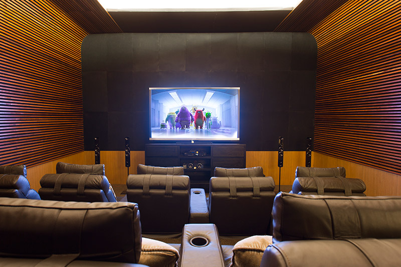 Villa Bayu Gita Beachfront Cinema Room