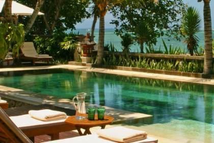Villa Cemara - 5BR Villa on Absolute Beachfront in Sanur Bali